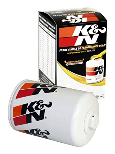 K&N Premium Oil Filter: Designed to Protect your Engine: Fits Select FORD/AUDI/VOLKSWAGEN/MERCURY Vehicle Models (See Product Description for Full List of Compatible Vehicles), HP-3001