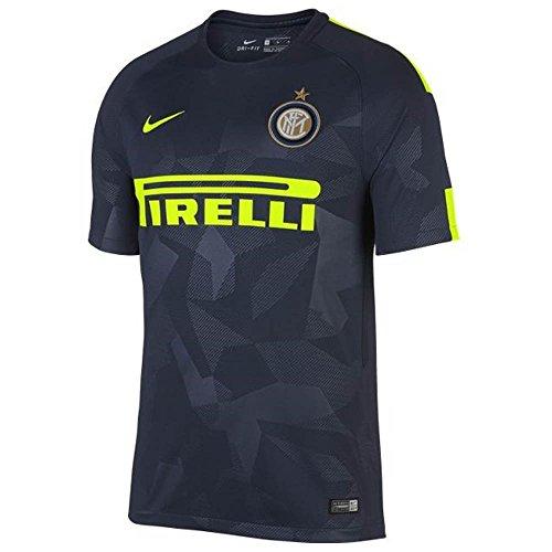 Nike 2017-2018 Inter Milan 3rd Football Soccer T-Shirt Trikot (Kids)