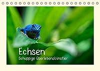 Echsen - Schuppige Ueberlebenskuenstler (Tischkalender 2022 DIN A5 quer): Echsen aus aller Welt (Monatskalender, 14 Seiten )
