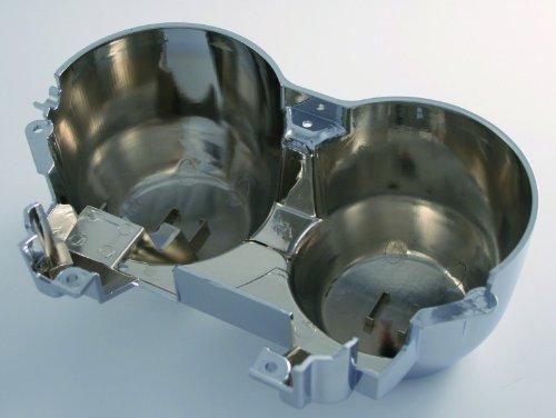 Preisvergleich Produktbild Untere Gehäuseschale für original Tacho chrom CB600 Hornet 98-02 CB 750 Seven-Fifty alle Modelle