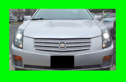 312 Motoring fits 2003-2007 Cadillac CTS Chrome Grill Grille KIT 2004 2005 2006 03 04 05 06 07 Sport