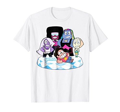 Stevens Universe Group Shot Of All Gems Graphic T-Shirt