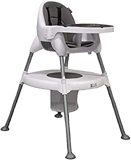 ZOE 5-in-1 Highchair – Portable, Adjustable, Comfortable, Stylish, Easy to Use
