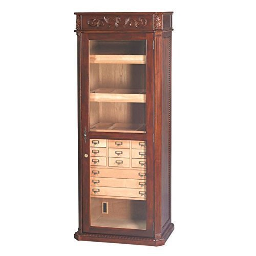 Quality Importers Trading HUM-2000ENG Old English Furniture Humidor