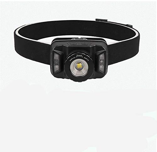 YXYL Linterna Frontal LED Linterna Recargable USB 7000lm Linterna del Sensor de Movimiento del Cuerpo Linterna de la luz roja a Prueba de Agua