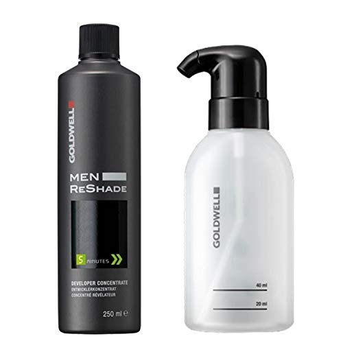 Goldwell Men Reshade Révélateur Concentré 250 ml & Flacon Applicateur