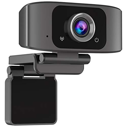Webcam with Microphone | 1080P HD Web cam USB Webcam for Computers Web Cam with Mic Desktop Web Camera Laptop USB Video Camera for Video Call,Streaming,Conference,Online Classes on PC,Wins,Mac OS
