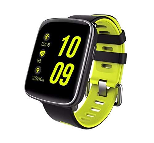 Smartwatch, Bluetooth Smart Watch Impermeable IP68 para Nadar Fitness Tracker Reloj de Pulsera con Monitor de Ritmo cardíaco Monitor de sueño Reproductor de SMS Llamar a cámara