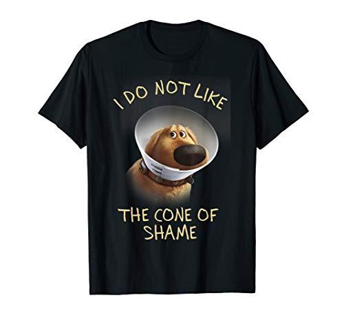 Disney Pixar Up Dug Sad Cone Of Shame Graphic T-Shirt