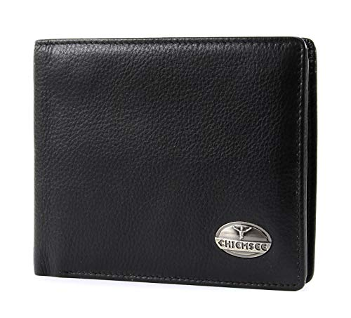 Chiemsee Leather Wallet Black