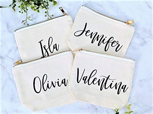 Personalized Cosmetic Bag for Women Custom Se famous Gifts A surprise price is realized Bridesmaid