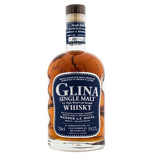 Glina Single Malt 8 Triple Wood Cask Strength 59,2% Vol. (1 x 0,7l)