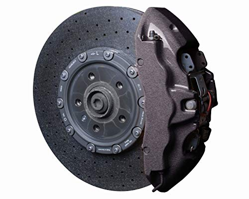 Foliatec 2170 Bremssattel Lack Set, carbon metallic