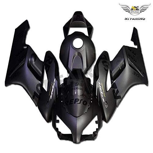 NT FAIRING Matte Black Repsol Fairing Fit for HONDA 2004 2005 CBR1000RR New Injection Mold ABS Plastics Bodywork Body Kit Bodyframe 04CBR a93