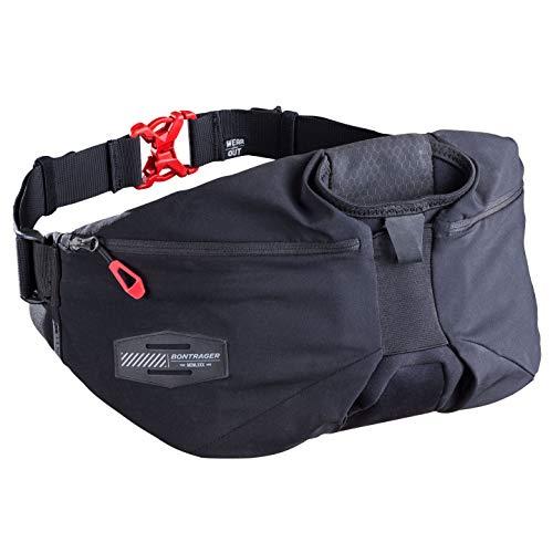 Bontrager Rapid Pack Fahrrad Bauch/Gürteltasche schwarz
