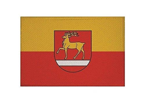 U24 Aufnäher Landkreis Sigmaringen Fahne Flagge Aufbügler Patch 9 x 6 cm