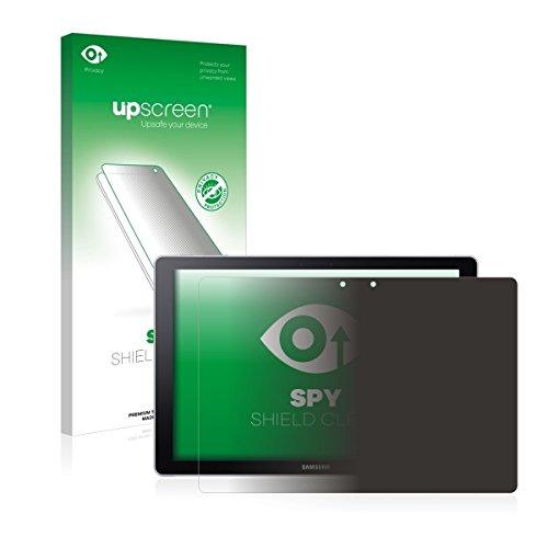 upscreen Spy Shield Clear Blickschutzfolie / Privacy für Samsung Galaxy Book 12 (Sichtschutz ab 30°, Kratzschutz, selbstklebend)