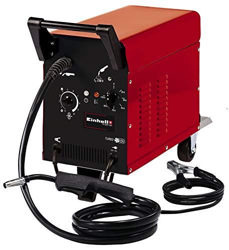 Einhell Schutzgas-Schweissgerät TC-GW 150 (25 - 120 A, 0.6 - 0,8 mm Schweißdraht, 6-stufige Schweißstromeinstellung, Thermoüberlastschutz, inkl. Schlauchpaket, Massekabel, Schweißschirm)