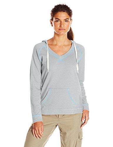 Columbia Sportswear 女士 Tropic Haven 纯色连帽衫 X大码 灰色 1620371