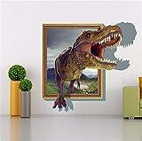 Faaddd 恐竜の壁のステッカー3Dステレ