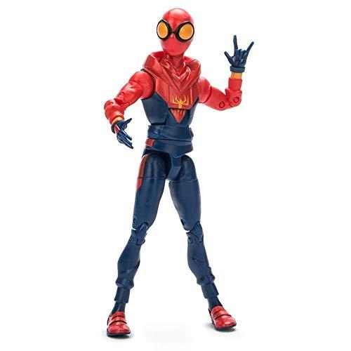 Lfy Marvel Hero regresa Spiderman muñeca Spiderman Universo Paralelo decoración articulación móvil...