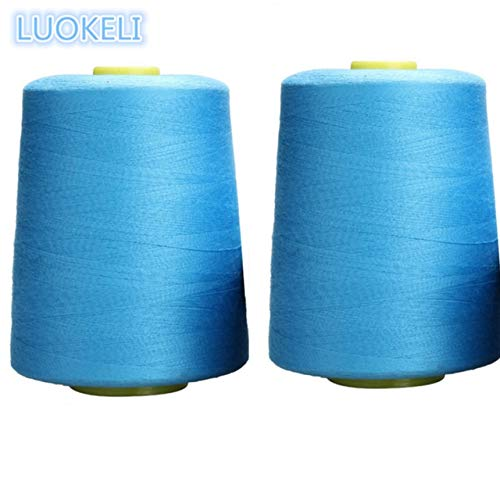 Best Bargain 1pcs 8000 Yards Polyester Thread Sewing Color Optional Clear