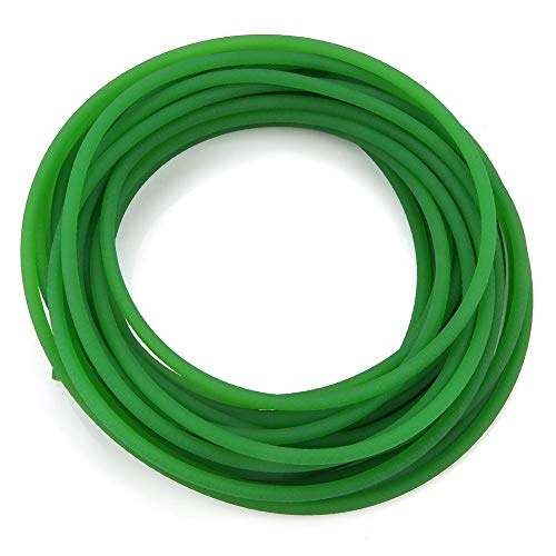 Best Prices! Beennex Green Rough Surface PU Polyurethane Round Belt for Drive Transmission(5mm10m)