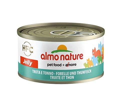 almo nature HFC Jelly Katzenfutter - Forelle und Thunfisch 24x70 g