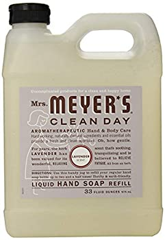Mrs Meyer s Clean Day Liquid Hand Soap Refill 33 oz  Lavender Pack - 3