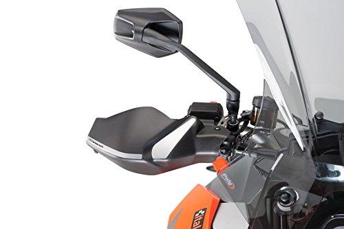 Puig 9186J Handschutzprotektoren Motorrad, Mattschwarz