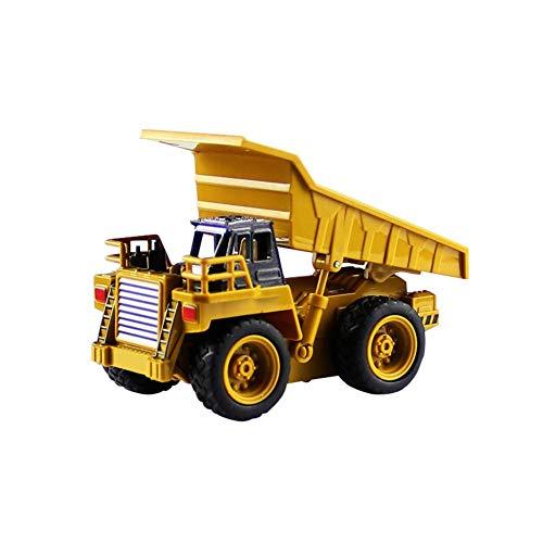 RC Auto kaufen Baufahrzeug Bild: Kinder RC Baufahrzeuge Modellbau Spielzeugauto - Fernbedienung Bagger Muldenkipper & Bulldozer Spielzeug für Kleinkinder, Kinder - Bau Spielzeug Traktor von Libertey*