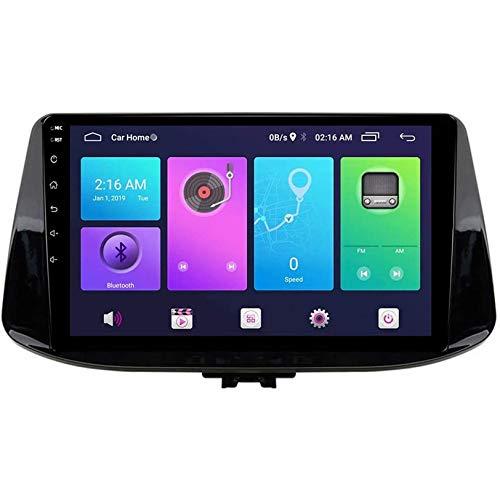 para Hyundai i30 2017 Androide 9.0 Auto Estéreo Se sentó Nav Cabeza Unidad GPS Navegación Sistema SWC 4G WiFi BT USB Espejo Enlace Incorporado Carplay,S4