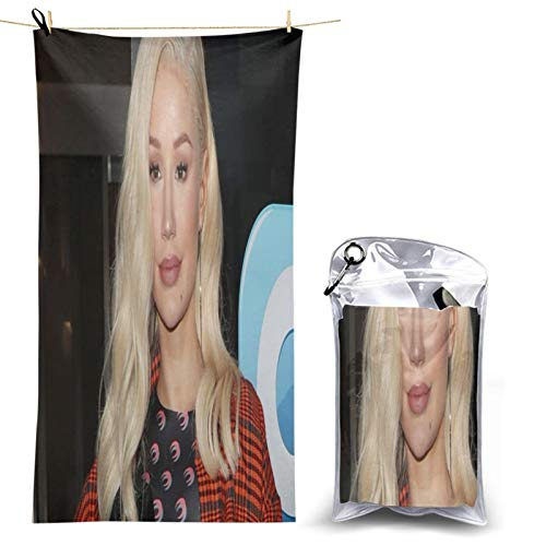 Iggy Azalea Microfiber Mandala Sand Free Beach Towel Quick Dry Super Absorbent Lightweight Oversized Large Towels for Travel Pool Swimming Bath Girl Women Men