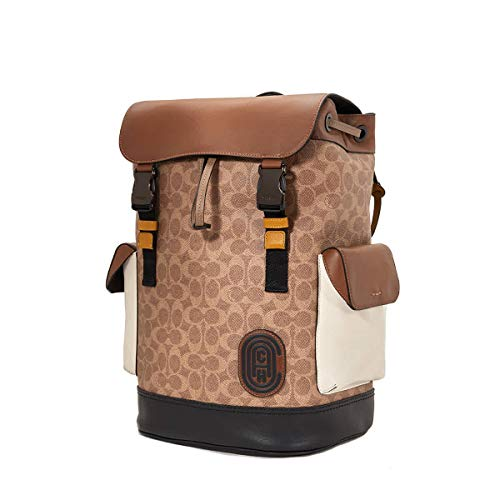 Coach Men's Signature Canvas Rivington Backpack