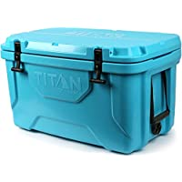 Arctic Zone Titan Deep Freeze 55Q Premium Ice Chest Roto Cooler with Microban Antimicrobial Protection