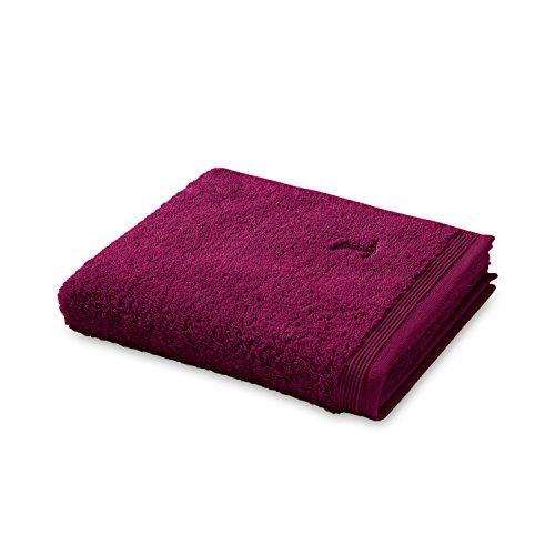 möve Superwuschel Handtuch 50 x 100 cm aus 100% Baumwolle, berry