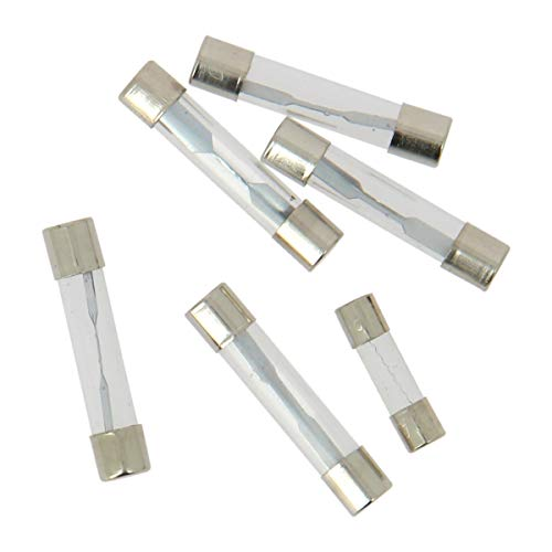 XL Tech 122738 Set de 5 fusibles verre + 1 radio