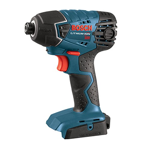 BOSCH Bare-Tool 25618B 18-Volt Lithium-Ion 1/4-Inch Hex Impact Driver,Blue