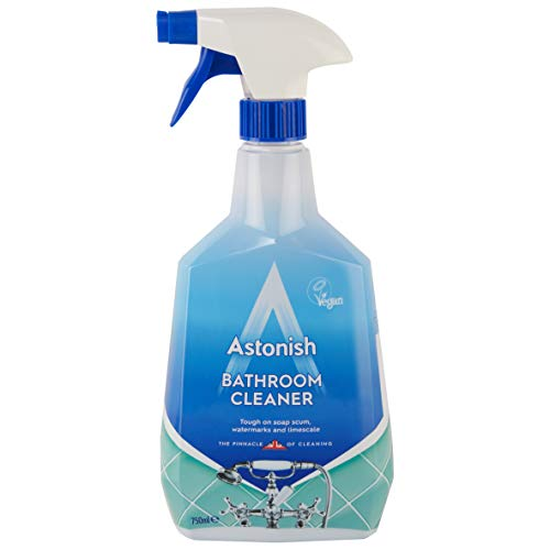 Astonish - Spray detergente per bagno, 750 ml