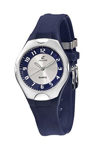 Calypso 5162/4 – Reloj de Caballero de Cuarzo, Correa de Goma Color
