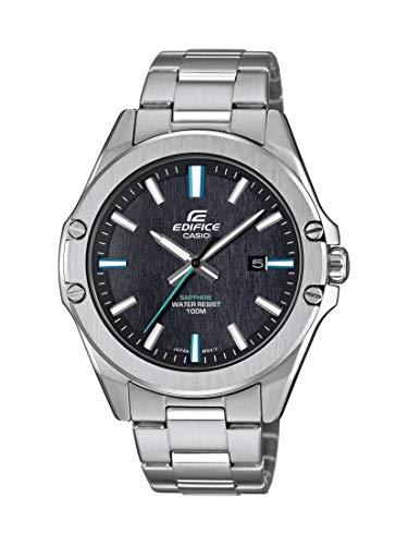 Casio Reloj Analógico para Hombre de Cuarzo con Correa en Acero Inoxidable EFR-S107D-1AVUEF