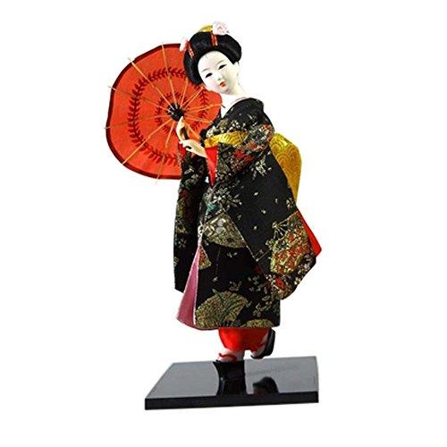 Geisha giapponese Kimono Art Doll Maiko Bambole Collezionismo regalo creativo, # 02