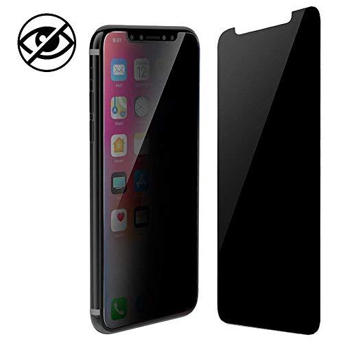Protector Pantalla iPhone XR Privacidad,Anti espía Cristal Templado Cobertura Completa Dureza 9H [Anti-ralladuras][Anti-burbujas][Fácil Instalación]Vidrio Templado para Apple iPhone XR