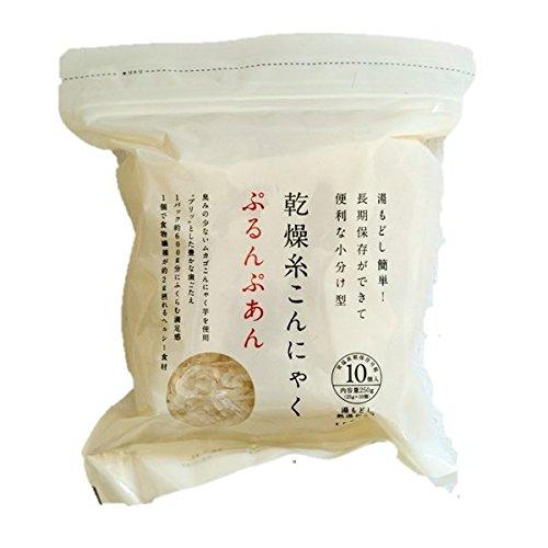 乾燥糸こんにゃく ぷるんぷあん 25g×10個入×4セット