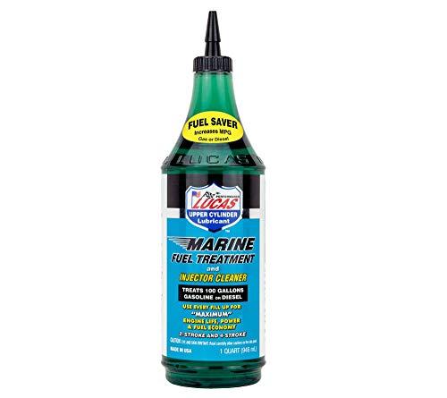 Lucas Oil Products 10981 Marine Fuel Treatment, 12 Quart, 1 Pack