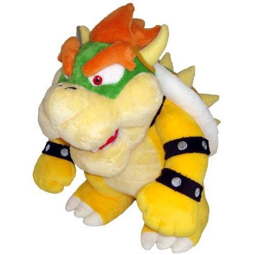 Nintendo Super Mario Bros 25,4 cm Deluxe en Peluche Bowser