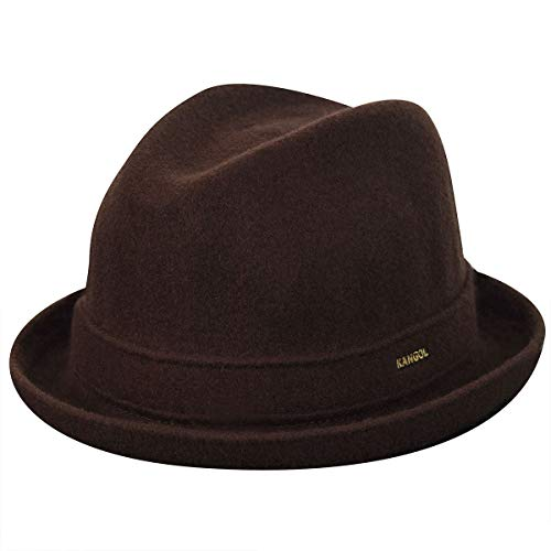 Kangol Wool Player Tribly, Marron (Tobacco), (Taille Fabricant: Large) Mixte