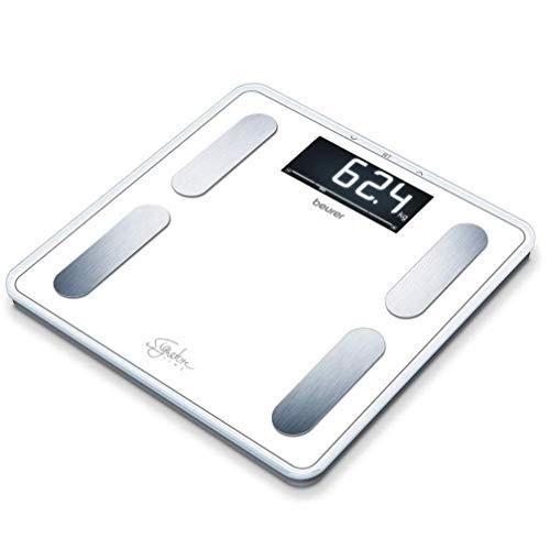 Beurer BF 400 Signature Line White Bilancia Diagnostica con Portata fino a 200 kg, 31 x 31 cm, Bianco