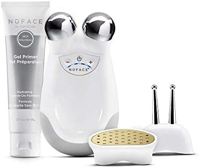 NuFACE Anniversary Complete Facial Toning Kit Trinity Facial Device ELE and WR Attachments Device product image
