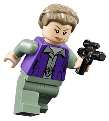 LEGO Star Wars Minifigure - General Princess Leia with Blaster (75140) by LEGO